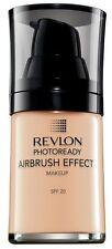 REVLON photoready airbrush effect foundation SPF20 in 002 vanilla - 30ml