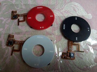 Clickwheel Click Wheel Flex for iPod 5th Gen Video 30GB 60GB 80GB U2 RED