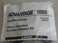 Msa 40mm Threaded Canister Adapter Kit -for Advantage 1000 Gas Mask - 10012413
