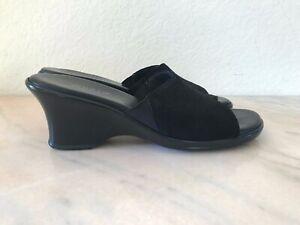 Munro American Shoes Sandals Black