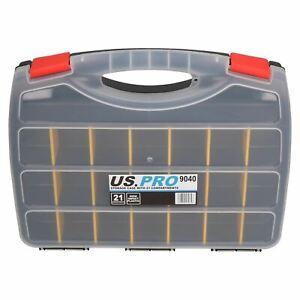 Outil-boitier-de-rangement-avec-21-reglable-Compartiments-Organisateur-en-Plastique-Etui