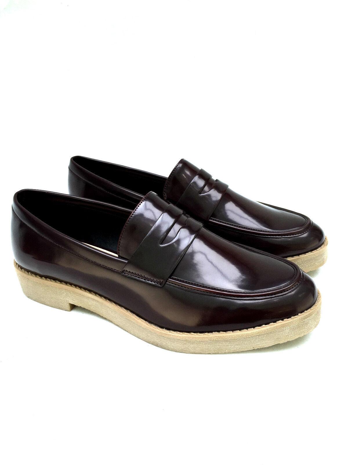 Zara Flach Slipper Mokassins Schuhe UK 6 7