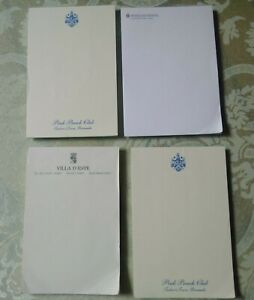 VINTAGE-PAPER-PADS-FROM-FOREIGN-and-ELITE-HOTELS-COLLECTIBLE-VERY-GOOD-CONDITION