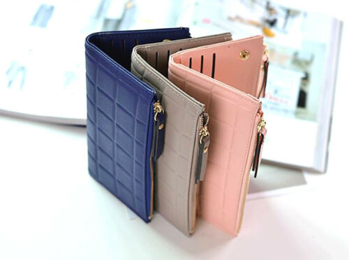 Lady Quality Leather Wallet Phone Case Belt Cardholders Purse Long Clutch