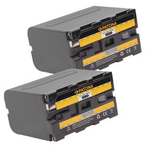 2x-Batteria-Patona-6600mah-li-ion-per-Sony-HDV-FX1-HDV-Z1-HVL-20DW-HVL-20DW2