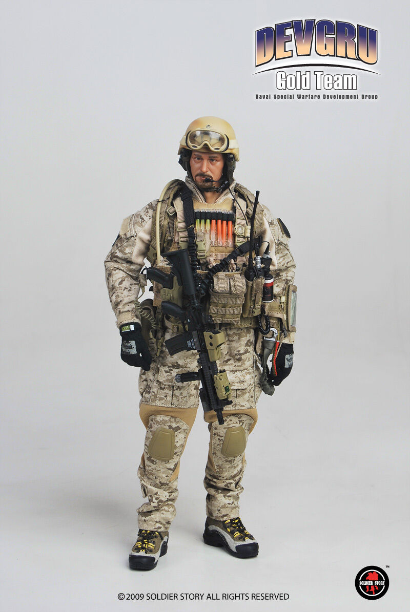 Devgru gold Team Naval Special Warfare Develop Group 1 6th Scale Soldier Story