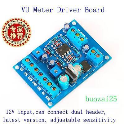 AC 9-20V VU Meter Driver Board DB Audio Level Power Amp Panel for TA7318P DENON