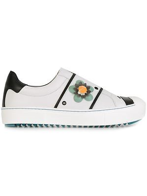 Women's Shoes Fendi Sneakers Flower Slip On £490 Woman Shoes 100% Autentich G7wuk Supplement The Vital Energy And Nourish Yin Slippers