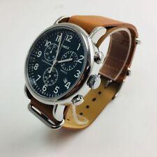 4fb6fdfe2 Timex Men's Weekender Navy Leather Analog Quartz Watch - TW2P62300 ...