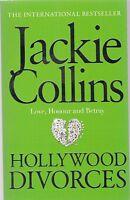 Hollywood Divorces, Jackie Collins - New Paperback Book