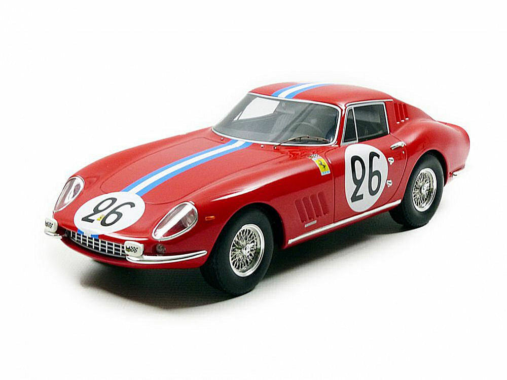 Ferrari 275 GTB dnf LM 1966 G. biscaldi Prince m. de Bourbon 1 18 Model