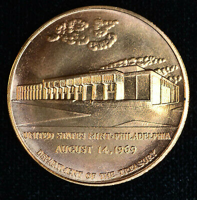 De Fleury Stony Point 38mm Bronze Treasury Department Medal US Mint Pewter