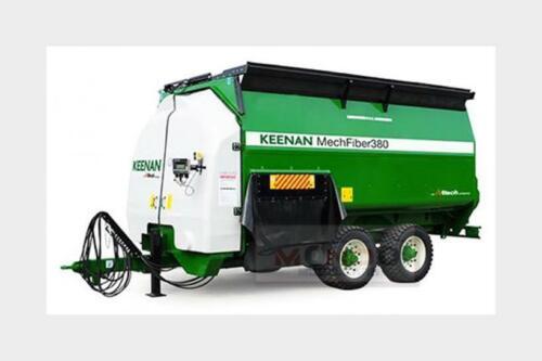 Keenan Trailer Mechfiber 365 Carro Miscelatore Green White BRITAINS 1:32 LC43197