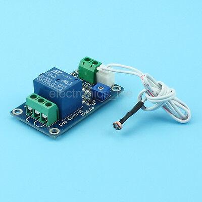 DC 12V Photosensitive Resistor Module Automatic Brightness Relay Control Switch