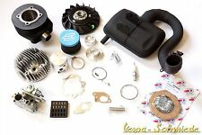 VESPA TUNING-KIT PX 125 & 150-livello 2-DR 177 cm³ CARBURATORE 24 POLINI hp4