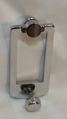 Baldwin BR7002-004 Contemporary Door Knocker Collection Polished Chrome