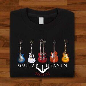 Cuerdas-de-guitarra-el-cielo-amante-de-la-musica-con-alas-Unisex-Libre-Reino-Unido-entrega-HD1-T