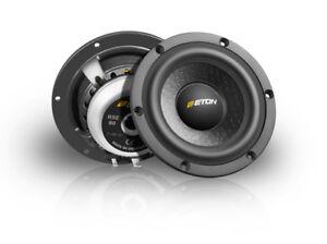 Eton Rse80 8cm 4 High End Hifi Mid Range Car Speakers Loud Speaker