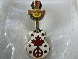 Hard Rock Cafe HRC Niagara Falls, Can. Peace Guitar 2007