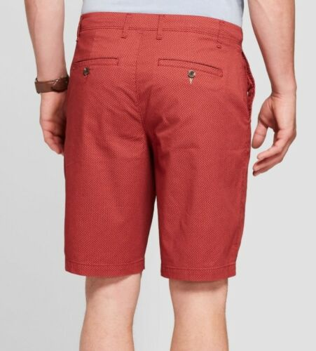 """NEW GOODFELLOW /& CO 30 38 40 42 Men/'s 10.5/"""" Linden Flat Front Chino Shorts"""