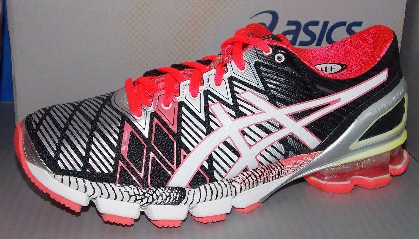 WOMENS ASICS GEL - KINSEI 5 in colors BLACK / SNOW / DIVA PINK SIZE 6 The most popular shoes for men and women