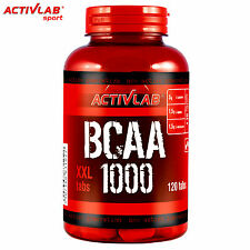 BCAA 1000 120 Tablets Muscle Development Growth Gain Whey Protein Anabolic Pills
