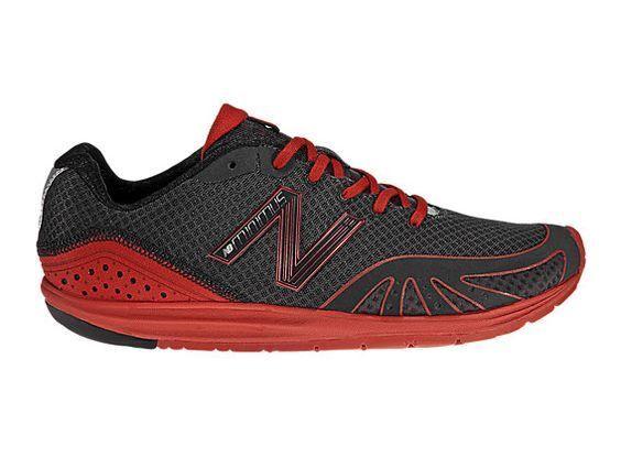 New Balance Zapatillas Minimus MR10 BR MR10BR Zapatillas Balance Para Correr Para HombresNegro y Rojo ecd5f9