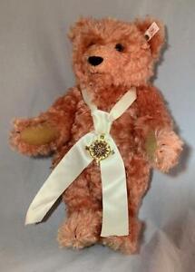 Steiff-Compass-Rose-Bear-5-Way-Jointed-EIN-650819-15-034-Tall-Working-Growler-NICE
