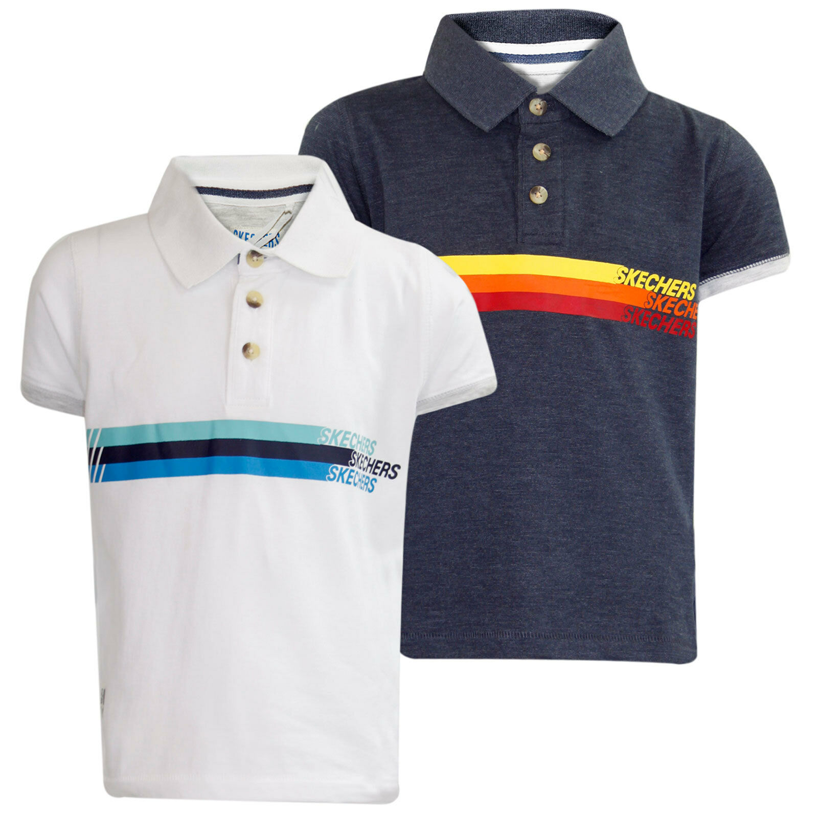 Boys Polo T-Shirt Brand Printed Short