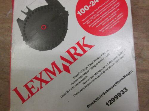 Genuine IBM Lexmark Black Ribbon 1299933 Fits QuietWriter 5202