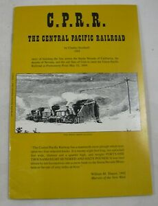 Central-Pacific-Railroad-CPRR-Charles-Nordhoff-1976-Reprint-Sierra-Nevada-Calif