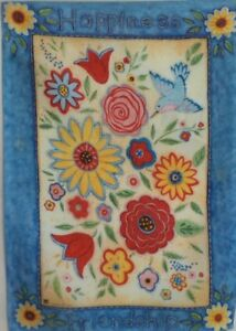 Friendship Quilt Standard House Flag by Breeze Art #4479 Happine
