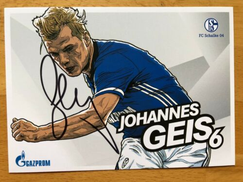 FC Schalke 04 Autogrammkarte 2017-18 original signiert 1 AK aussuchen