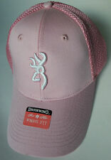 ... closeout browning hunting hat new baseball cap breeze ladies womens  pink buckmark 63062 a1ba8 4b0e5f9ed975