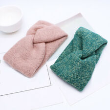.Crocheted Headbands,Hair Accessory Winter Headband