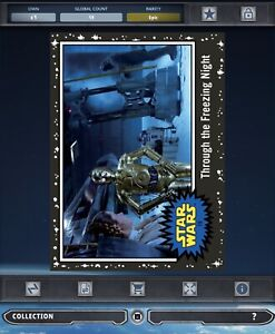 Topps Star Wars Card Trader Black Journey Rise Skywalker Leia C 3po Through 19cc Ebay
