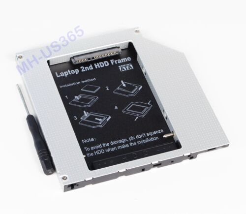 2nd SATA Hard Drive caddy Adapter for Panasonic Toughbook CF-29 CF-30 CF-28