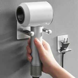 Bathroom-Wall-Mount-Hair-Dryer-Stand-Rack-Storage-Organizer-Holder-for-Dyson