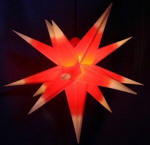3D-Adventsstern-55cm-rot-weiss-Aussenstern-aussen-Stern-Weihnachtsstern-wetterfest
