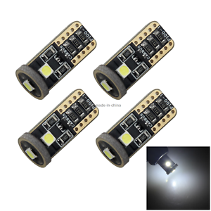 4x-White-RV-T10-W5W-Corner-Light-Reading-Bulb-Error-Free-Canbus-3-3030-SMD-LED-Z