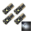 4x-White-RV-T10-W5W-Corner-Light-Reading-Bulb-Error-Free-Canbus-3-3030-SMD-LED-Z miniature 1