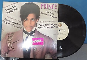 PRINCE-034-Controversy-034-Funk-Soul-12-034-LP-with-Color-Poster