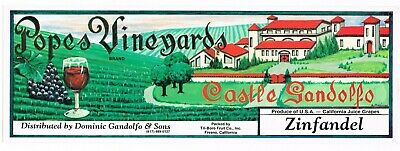 ROSY GRAPE CRATE LABEL ORIGINAL VINTAGE 1950/'S FRESNO California