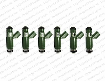 6 Flow Matched Fuel Injector Set for 2002-2008 Jaguar X Type 2.5 3.0 1X43-AB
