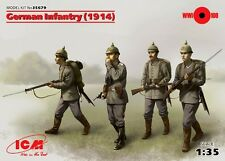 GERMAN (PRUSSIAN) INFANTRY 1914 WITH WEAPONS #35679  1/35 ICM