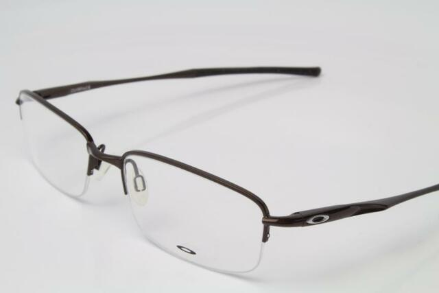 bb551f78c0b Oakley Clubface Eyeglasses Polished Brown OX3102-0254 Authentic 54mm