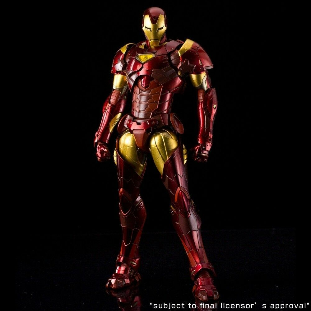 Sentinel RE  EDIT IRON MAN  02 Extremis Armor Action Figure F S NEW