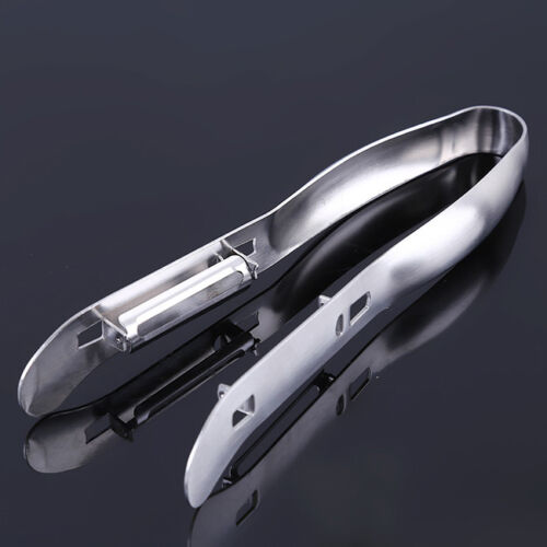 Practical Stainless Steel Asparagus Peeler with Double Blade Kitchen Tool S