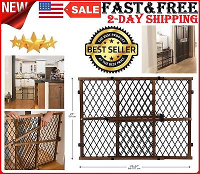 Walk Through Safety Gate Door with Easy Locking Walk Thru Baby Safety FREE SHIP
