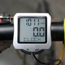Bicycle Bike Cycling Computer LCD Odometer Speedometer Stopwatch Speed meter SE
